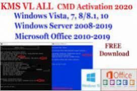 Activator CMD Windows 10 1809 and Office 2019